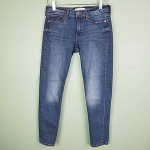 Banana Republic Medium Wash Skinny Ankle Jeans 28